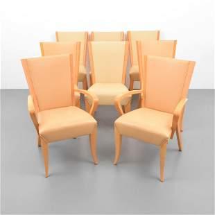 Dakota Jackson Dining Chairs Set of 8