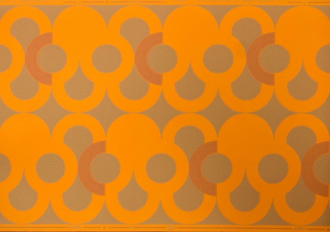 Jules Leleu TABORA Wallpaper, 9 Rolls