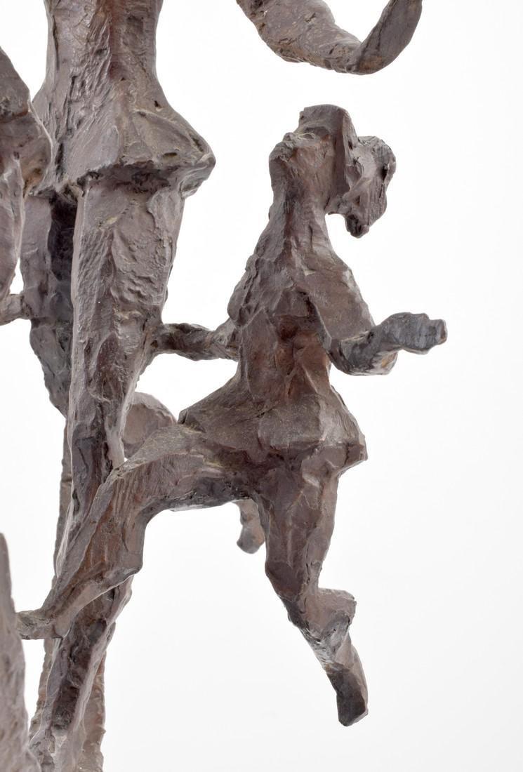 Large Chaim Gross Bronze Figural Sculpture - 4