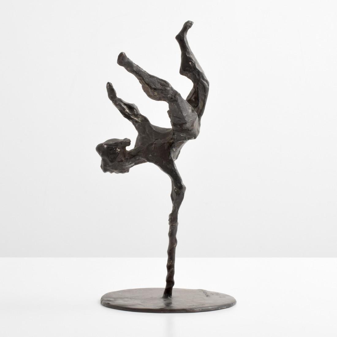 Chaim Gross Bronze Sculpture