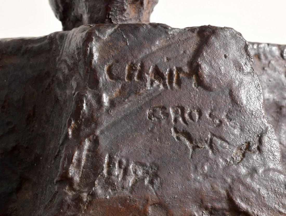 Large Chaim Gross Bronze Figural Sculpture - 2