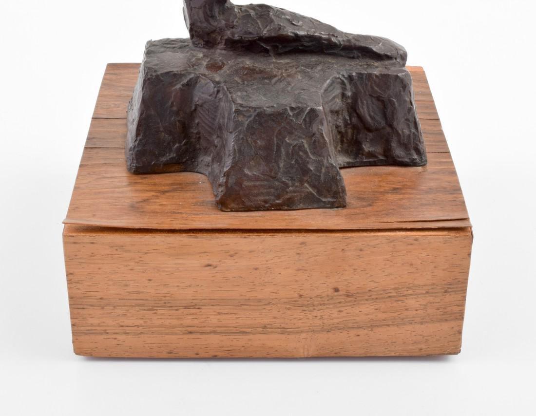 Large Chaim Gross Bronze Figural Sculpture - 5
