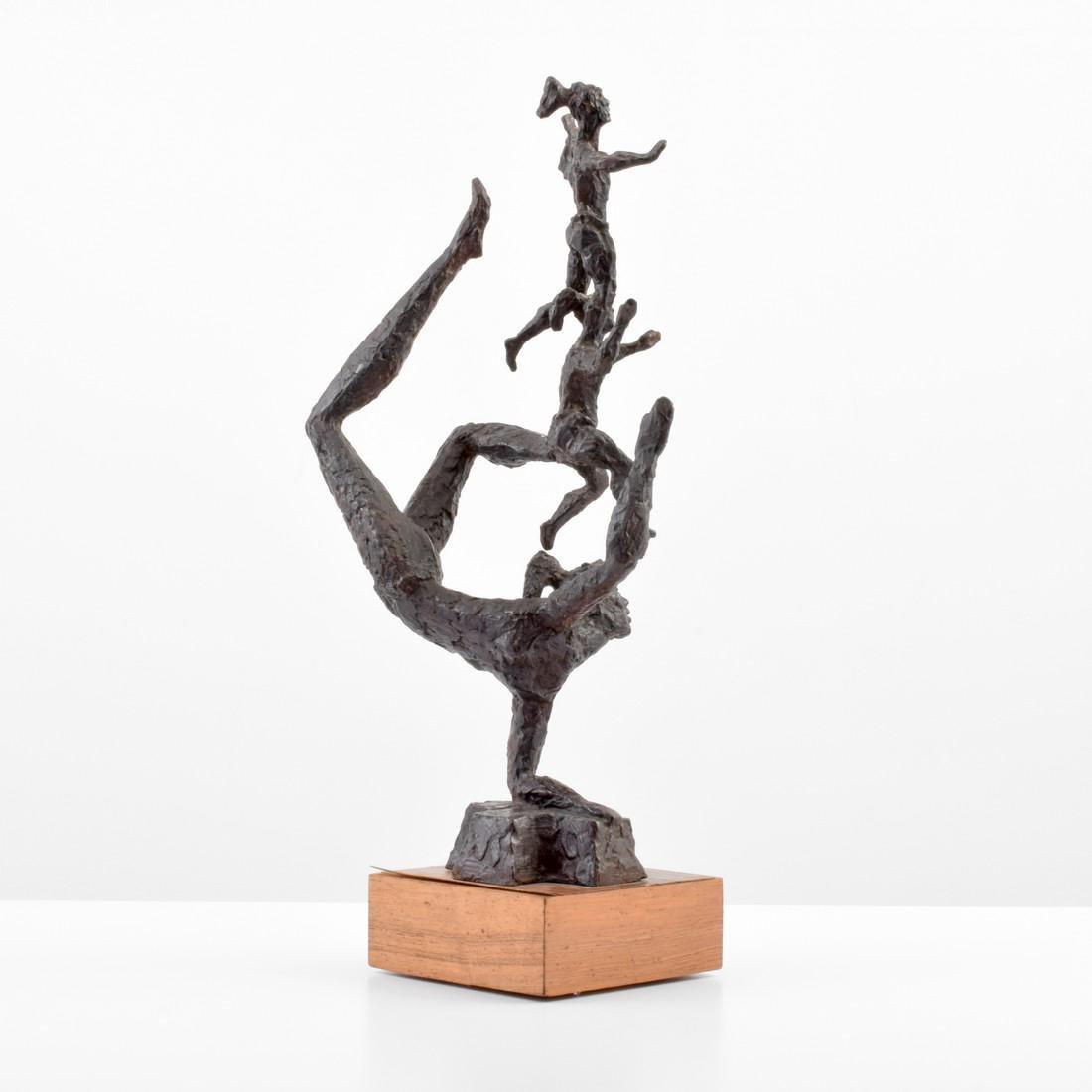 Large Chaim Gross Bronze Figural Sculpture - 6