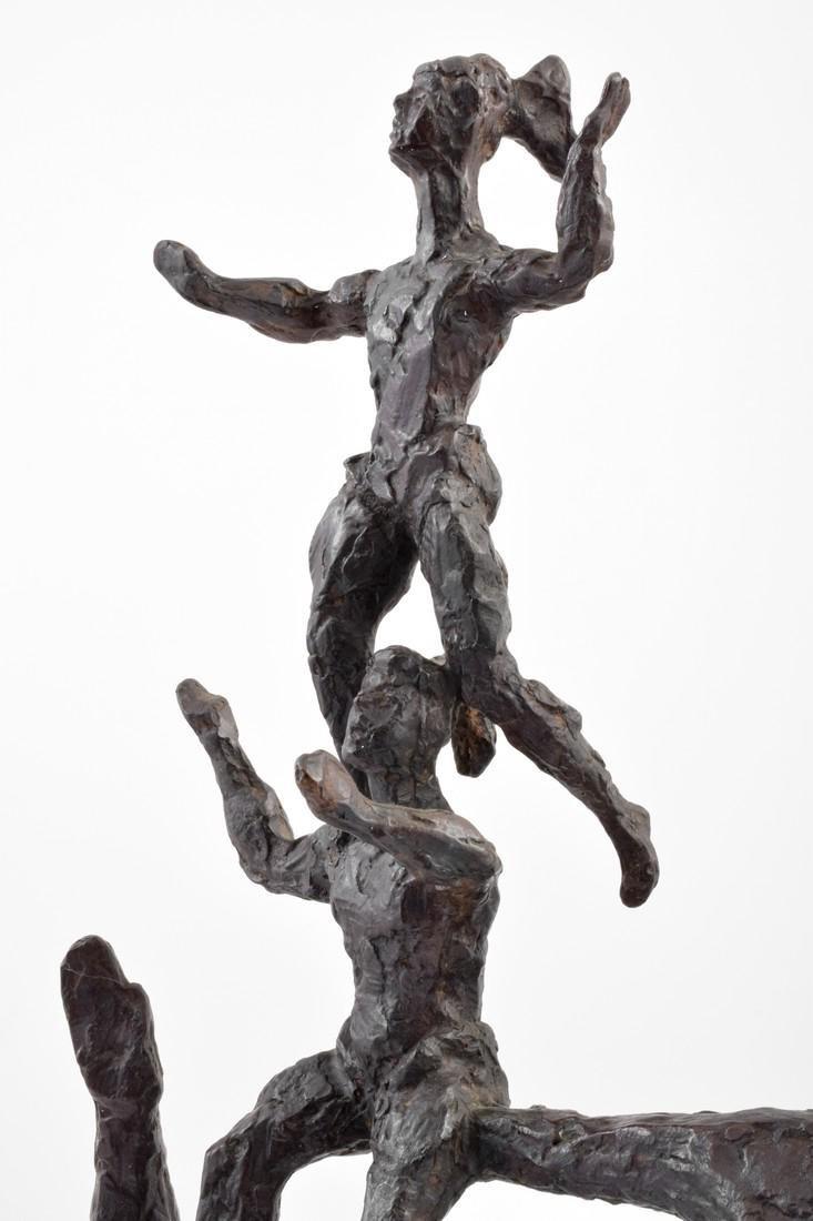 Large Chaim Gross Bronze Figural Sculpture - 8