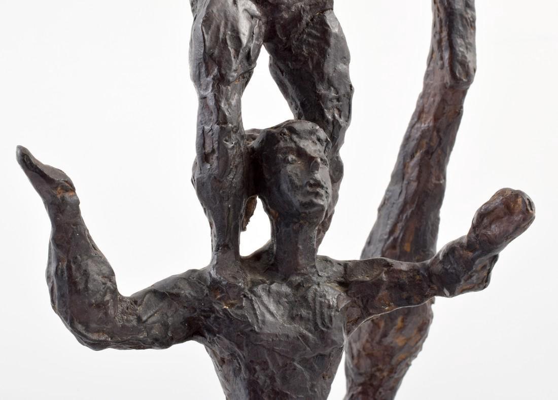 Large Chaim Gross Bronze Figural Sculpture - 9