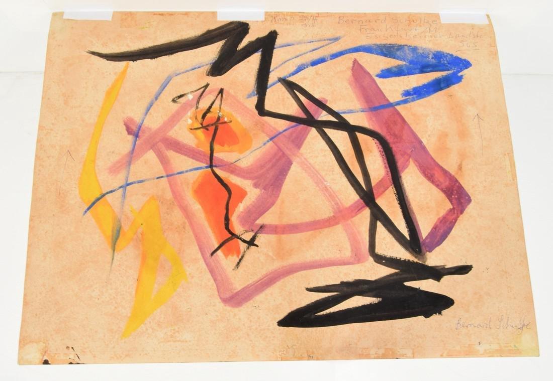 Bernard Schultze Mixed Media, Original Work - 9