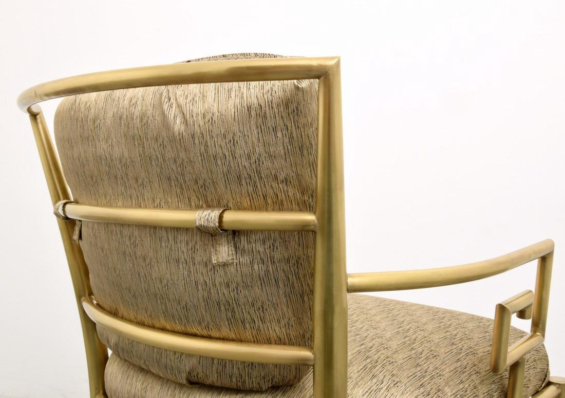 Greek Key Lounge Chairs, Attributed to Mastercraft - 7