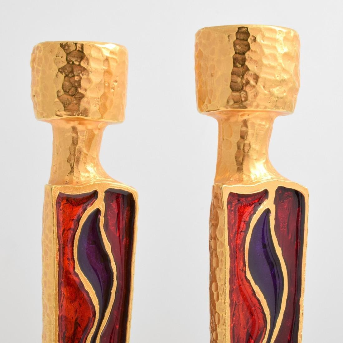 Pair of Nicolas de Wael Candlesticks - 4