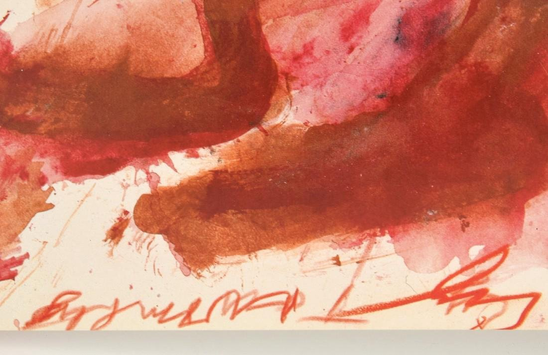 Cy Twombly Yvon Lambert Exhibition Poster - 2