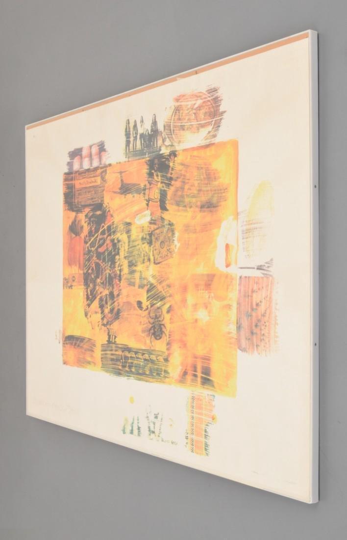 Robert Rauschenberg YELLOW BODY Lithograph - 3