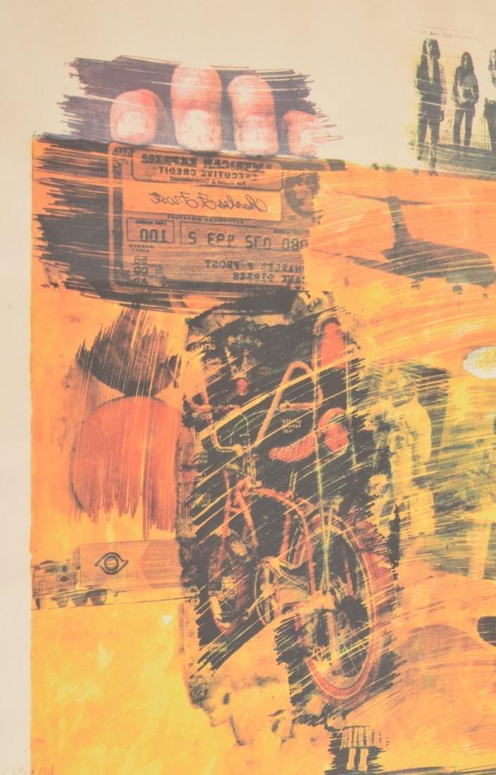 Robert Rauschenberg YELLOW BODY Lithograph - 8