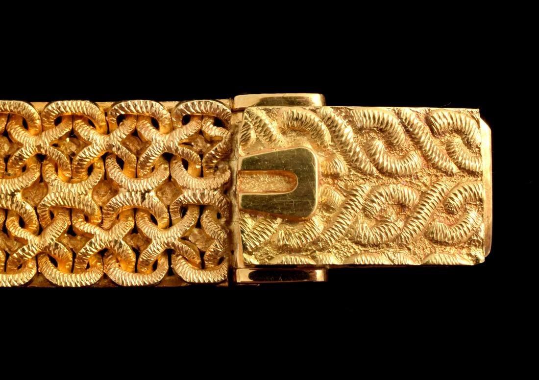 18K Yellow Gold Universal Geneve Vintage Estate Watch - 10
