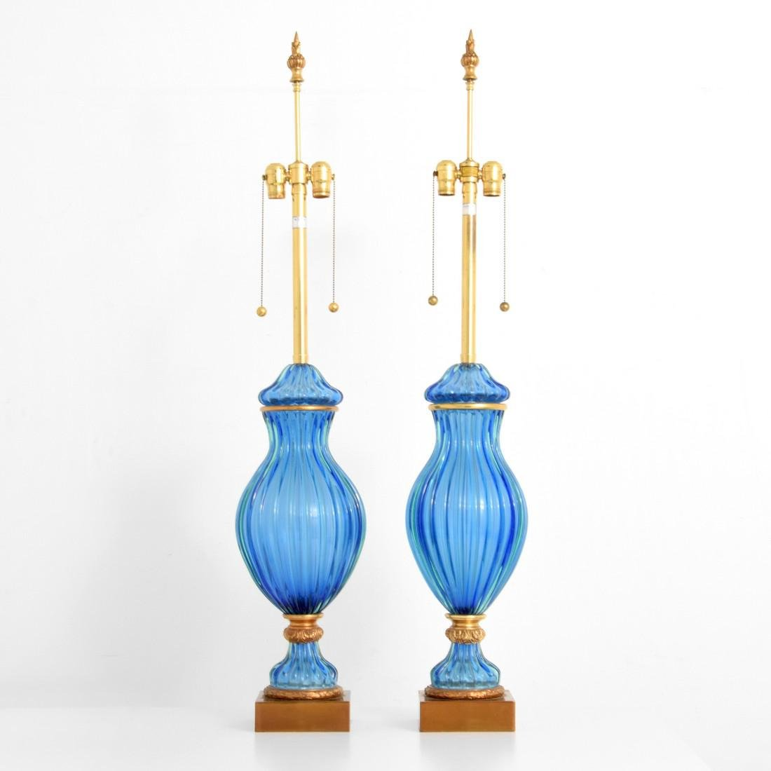 Pair of Monumental Marbro Lamp Co. Lamps