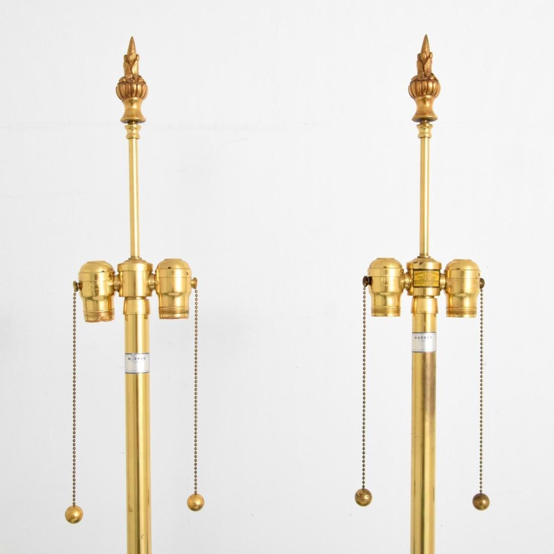 Pair of Monumental Marbro Lamp Co. Lamps - 3