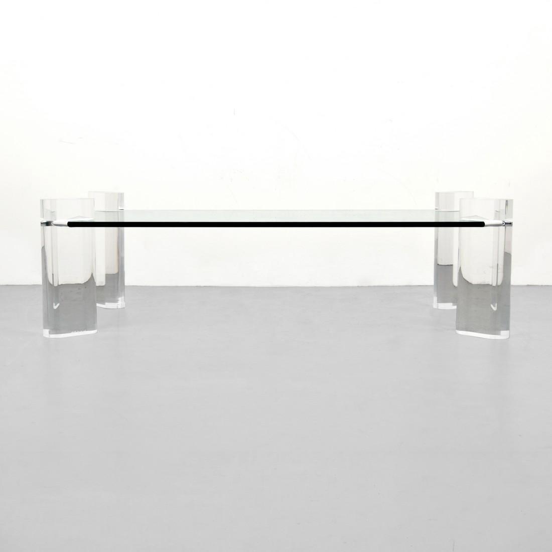 Large Karl Springer Coffee Table - 2