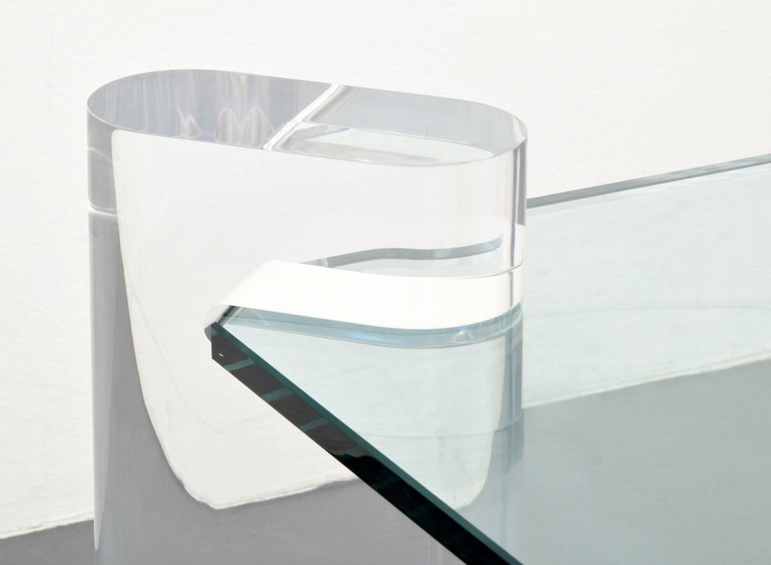 Large Karl Springer Coffee Table - 3