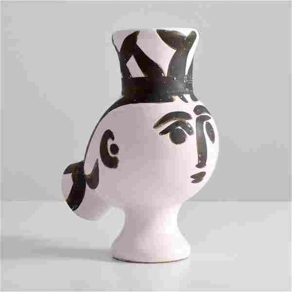 Pablo Picasso CHOUETTE FEMME Vase / Vessel
