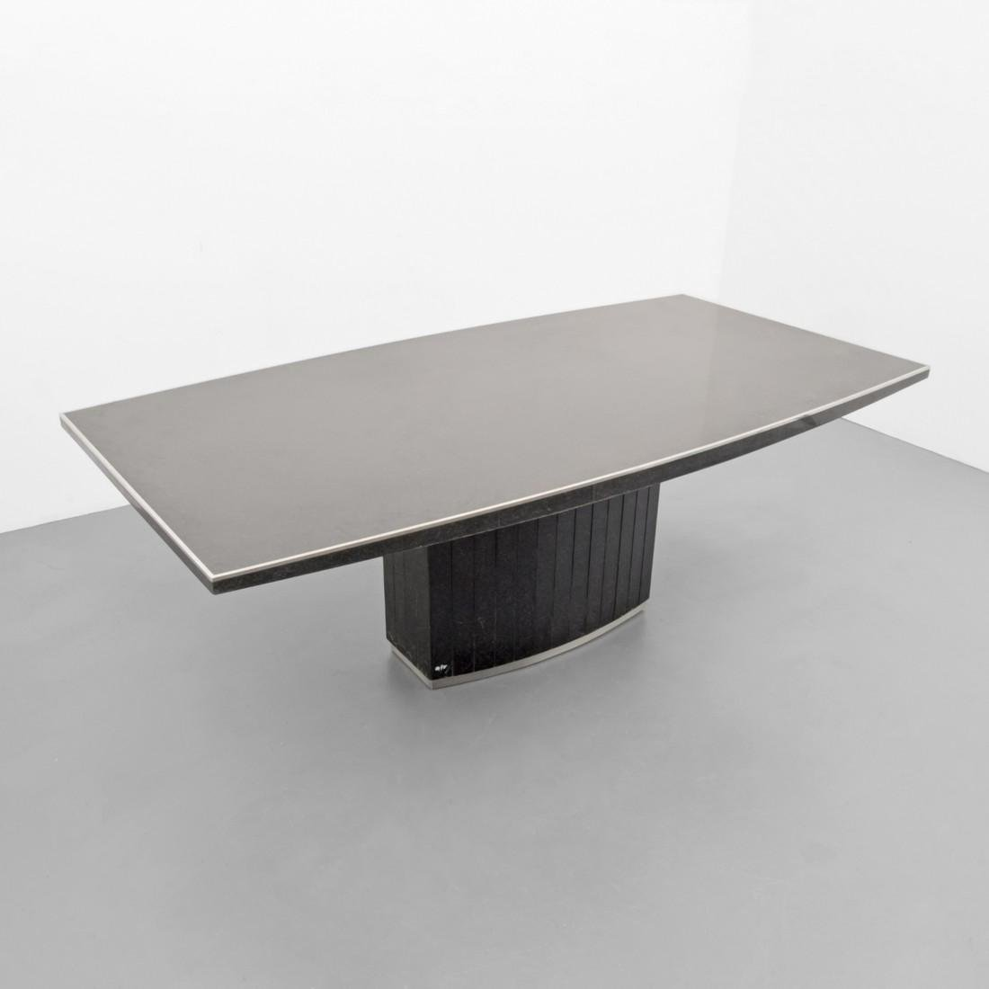 Large Willy Rizzo Dining Table