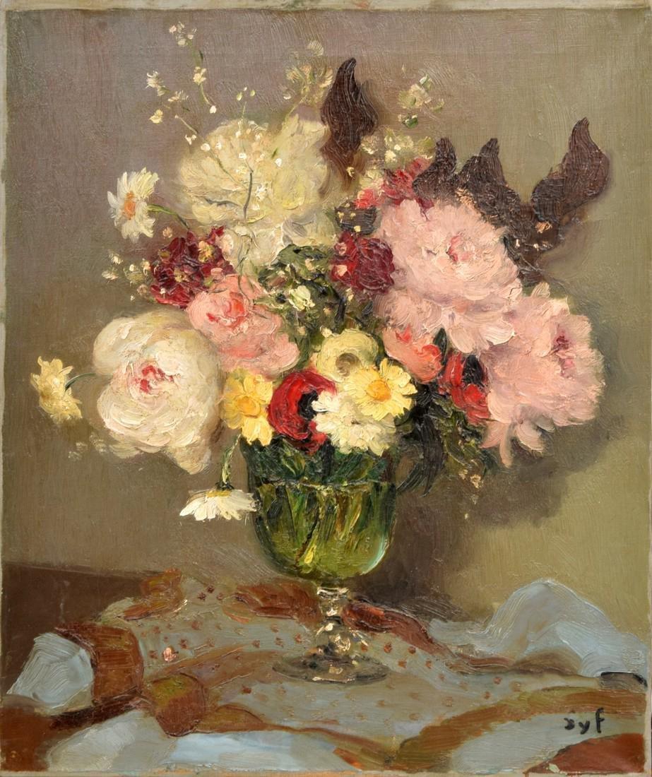 Marcel Dyf Painting, Original Work