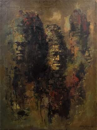 Choo Keng Kwang Painting Original Work