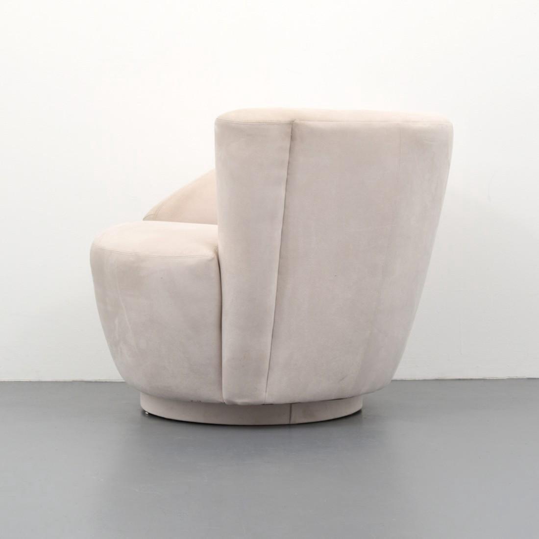 Vladimir Kagan CORKSCREW Swivel Lounge Chair - 4