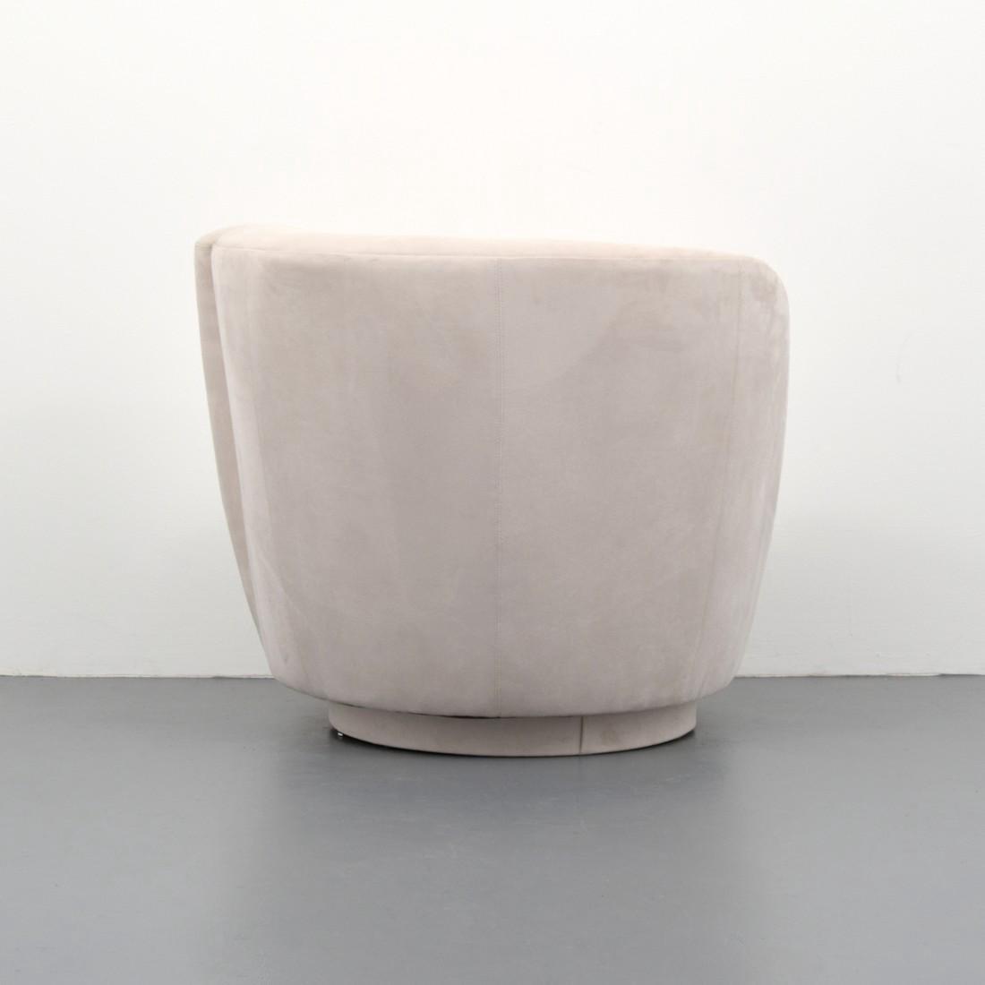 Vladimir Kagan CORKSCREW Swivel Lounge Chair - 5