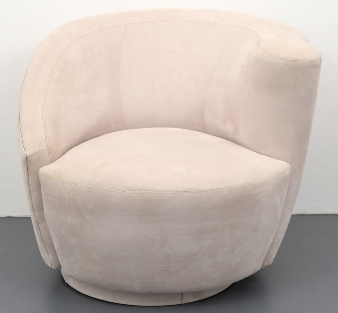 Vladimir Kagan CORKSCREW Swivel Lounge Chair - 9