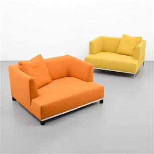 2 Antonio Citterio Lounge Chairs