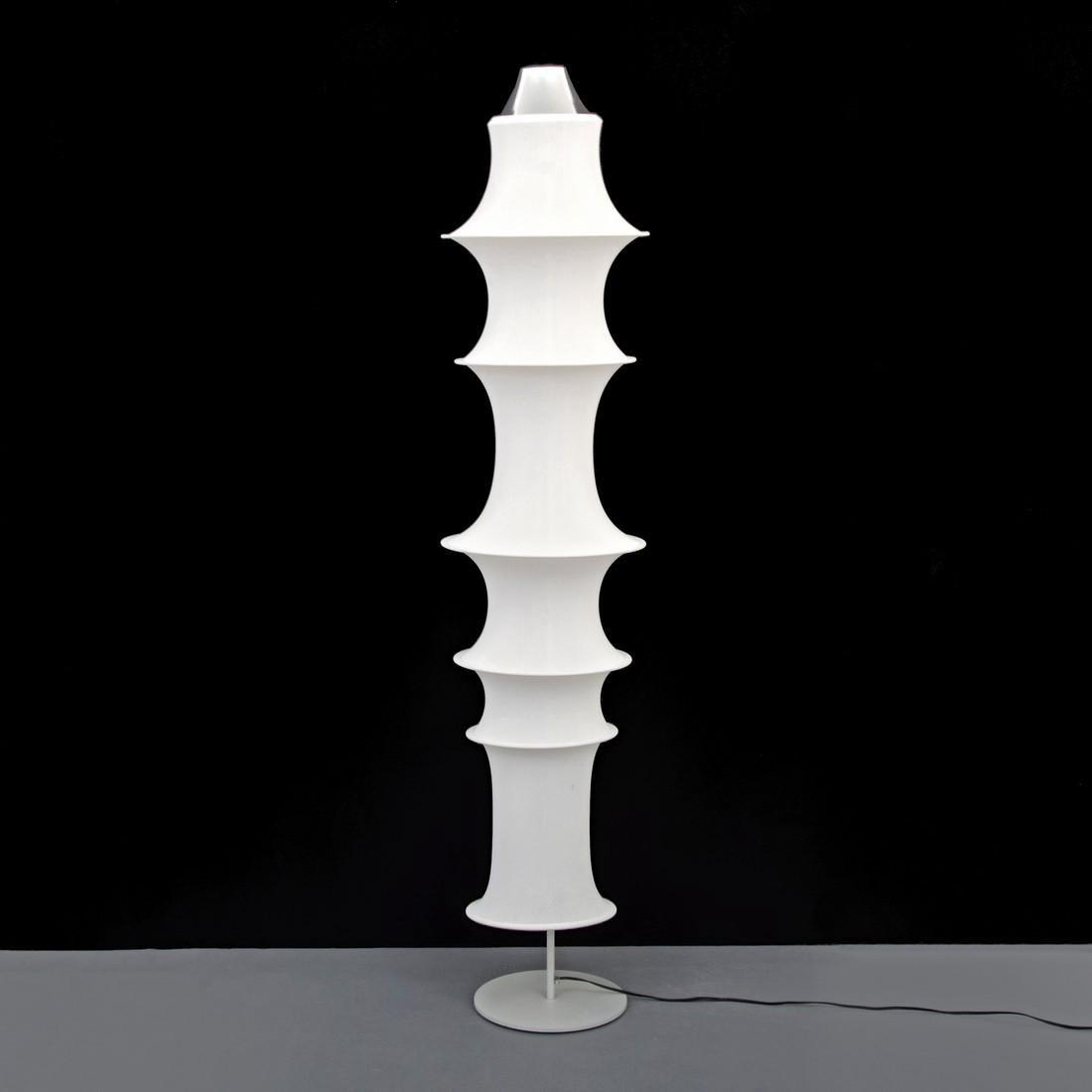 Large Bruno Munari FALKLAND TERRA Floor Lamp