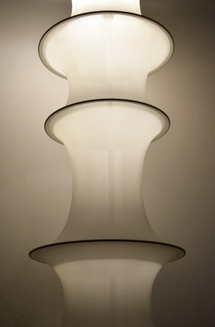 Large Bruno Munari FALKLAND TERRA Floor Lamp - 2