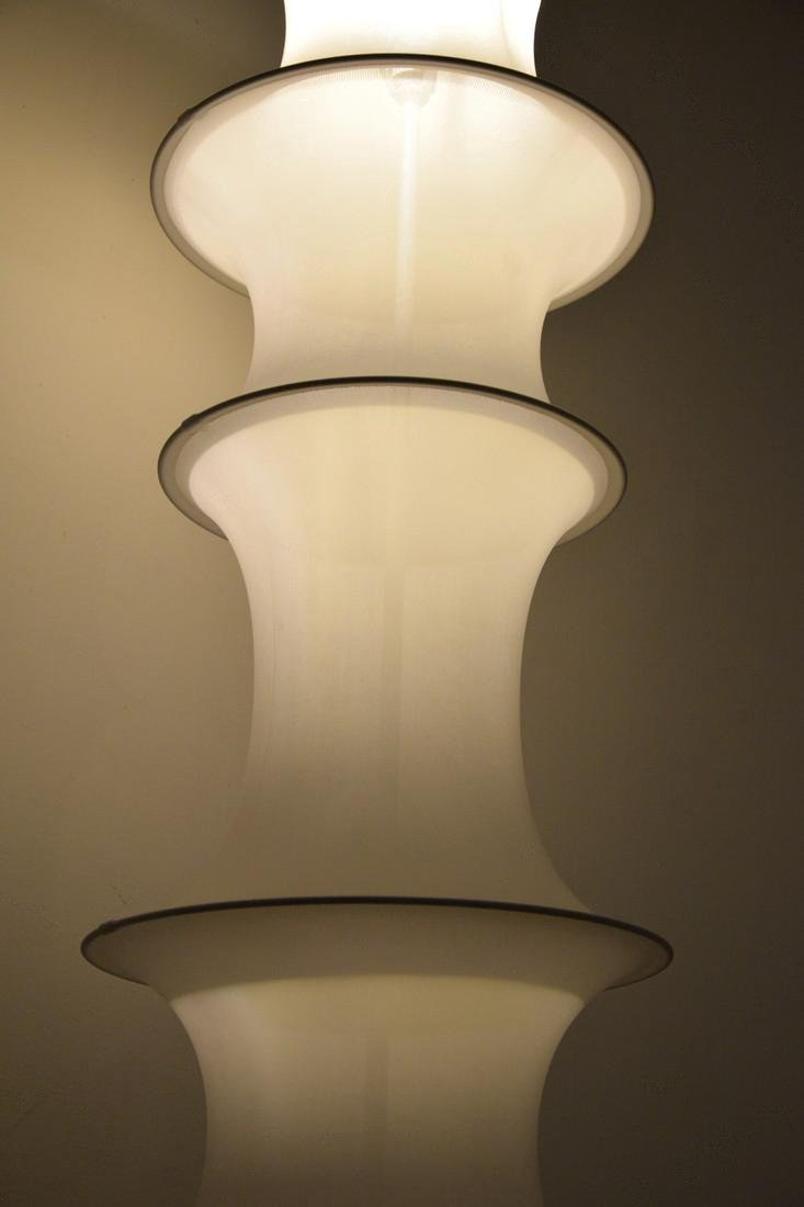 Large Bruno Munari FALKLAND TERRA Floor Lamp - 3