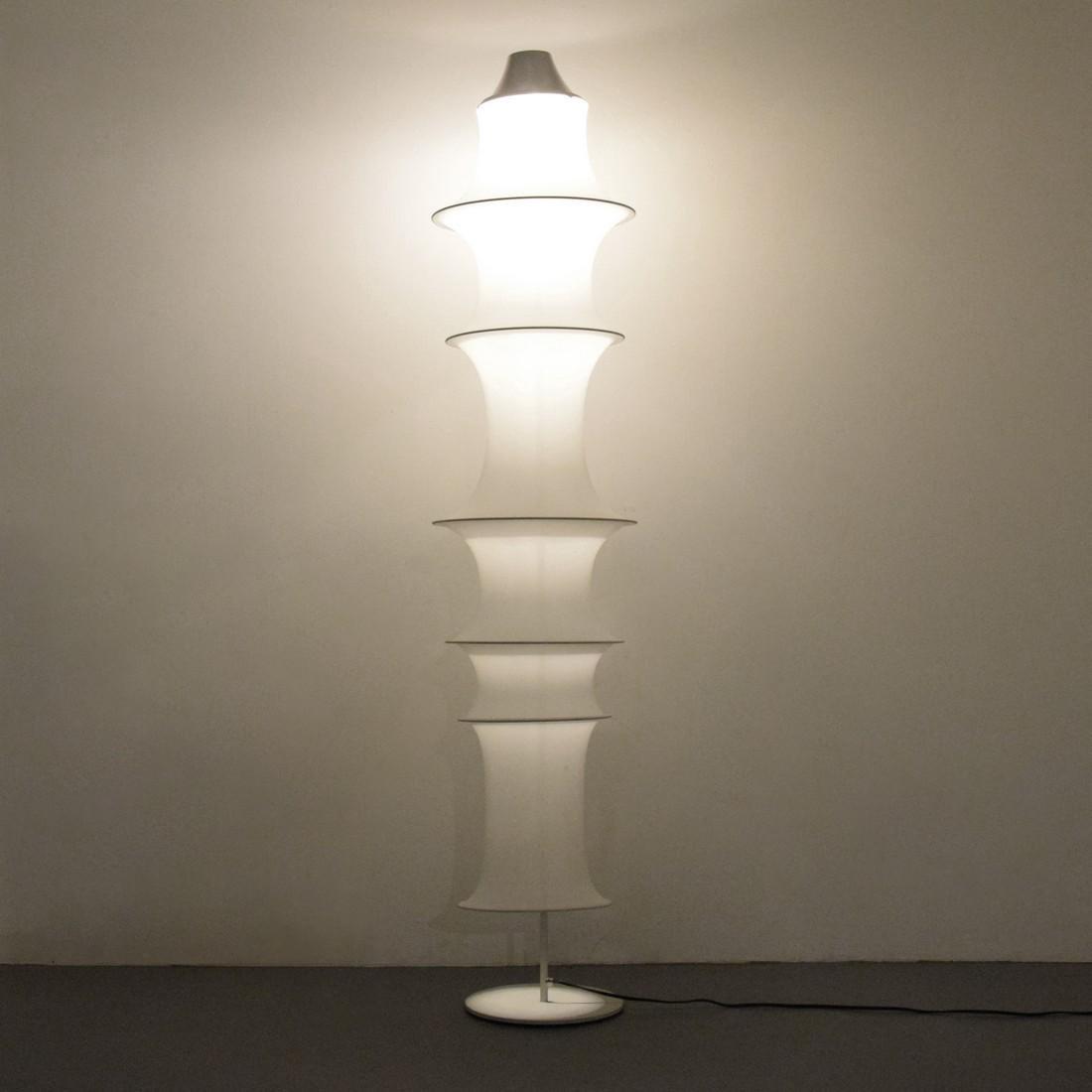 Large Bruno Munari FALKLAND TERRA Floor Lamp - 7