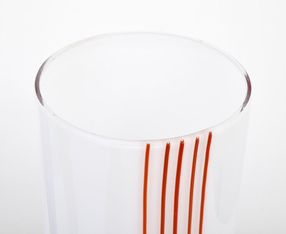 3 Large Livio Seguso Vases, Murano - 5