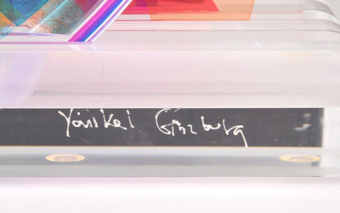 Yankel Ginzburg Sculpture, Signed Edition - 2