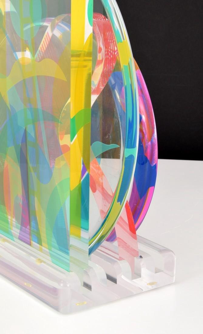 Yankel Ginzburg Sculpture, Signed Edition - 7