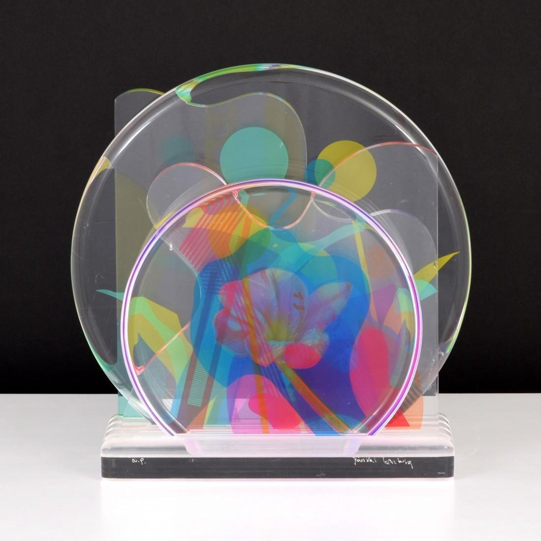 Yankel Ginzburg Sculpture, Signed Edition - 9
