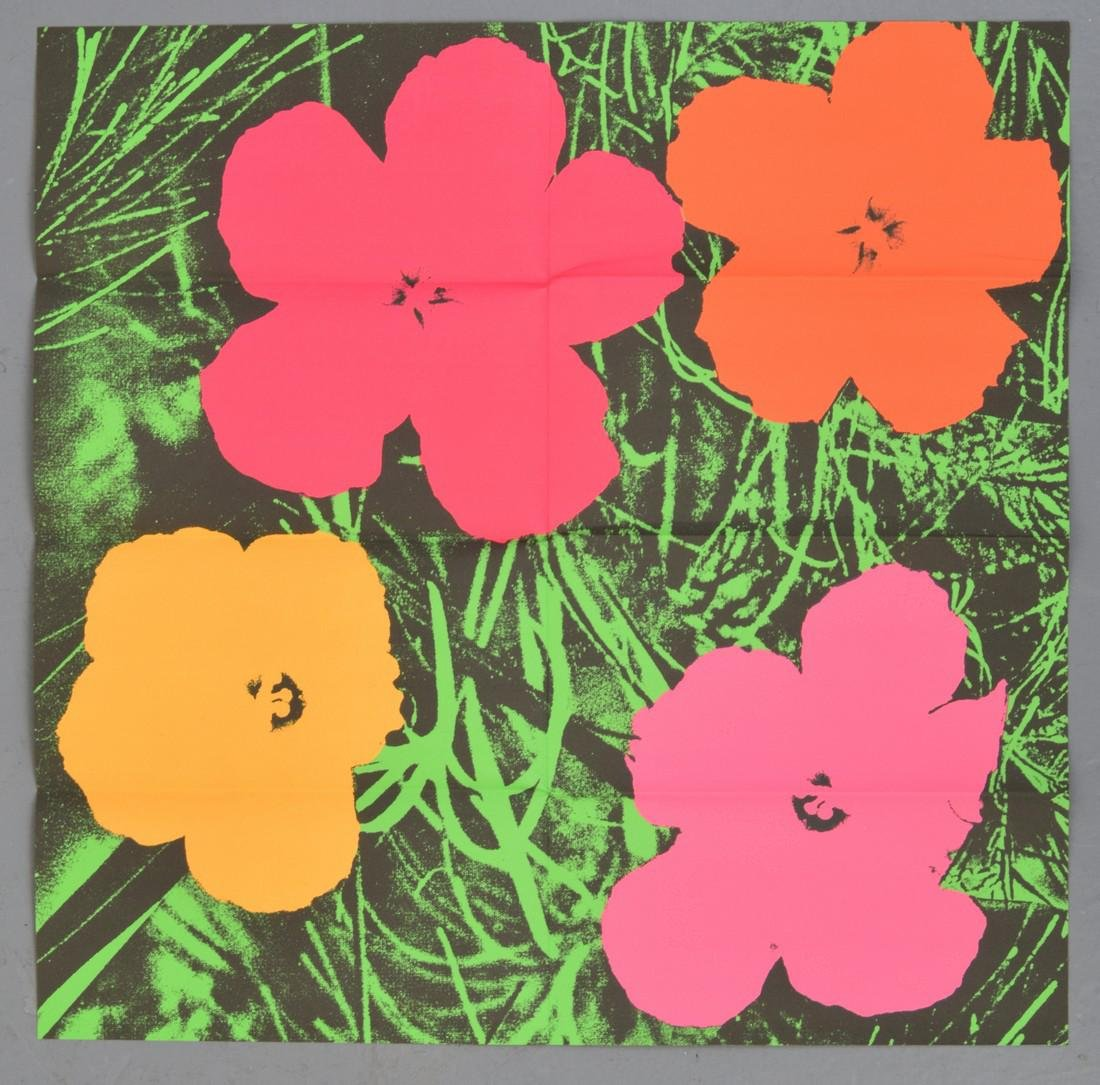 Andy Warhol FLOWERS Mailer - 2