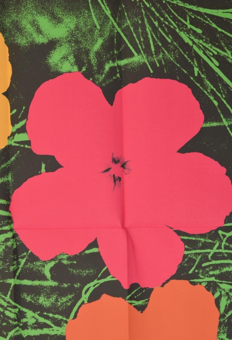 Andy Warhol FLOWERS Mailer - 3