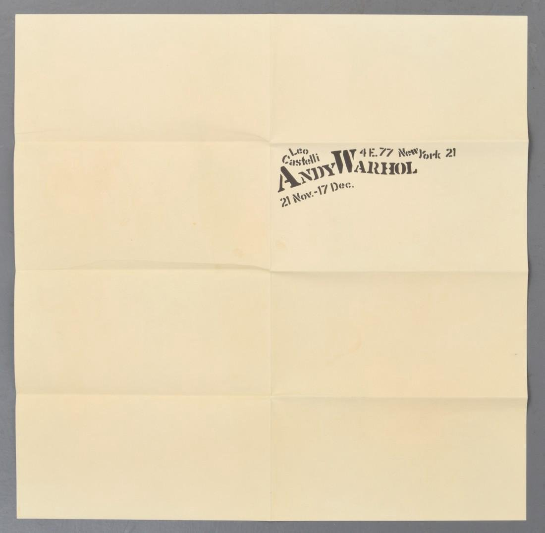 Andy Warhol FLOWERS Mailer - 4