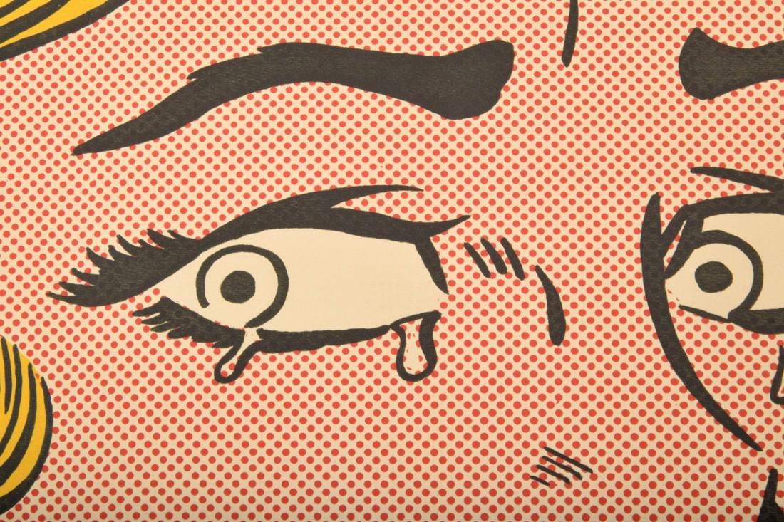 Roy Lichtenstein CRYING GIRL Mailer - 4