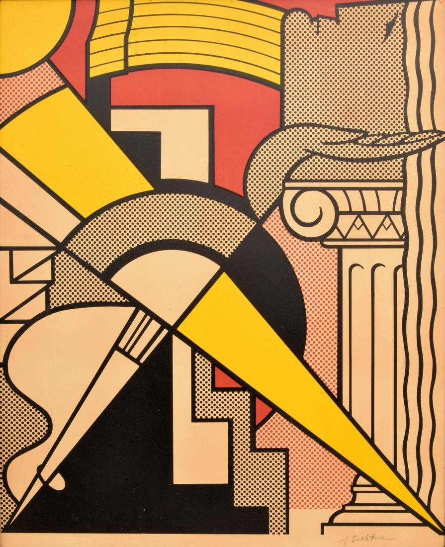 Roy Lichtenstein Print