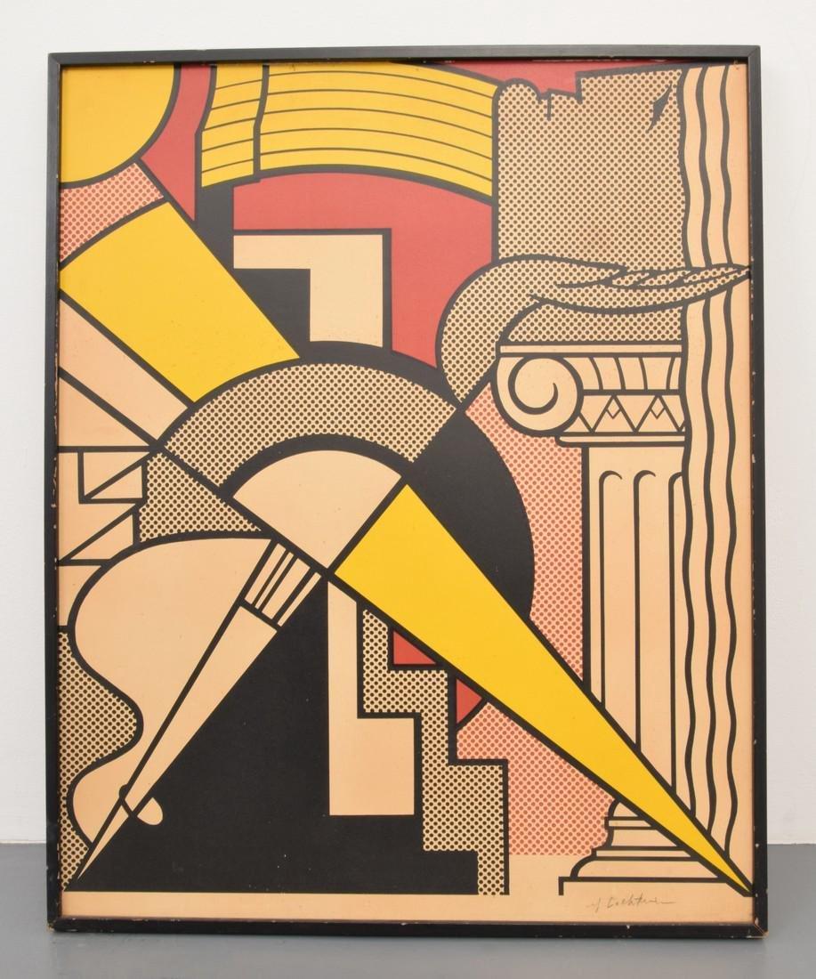 Roy Lichtenstein Print - 2