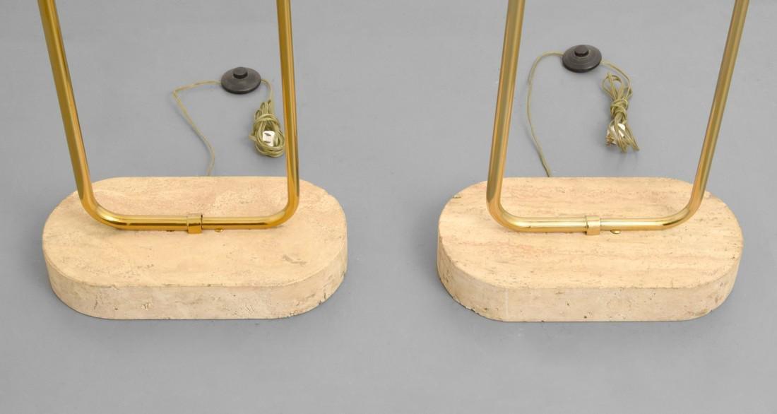 Pair of Tommaso Barbi Floor Lamps - 2