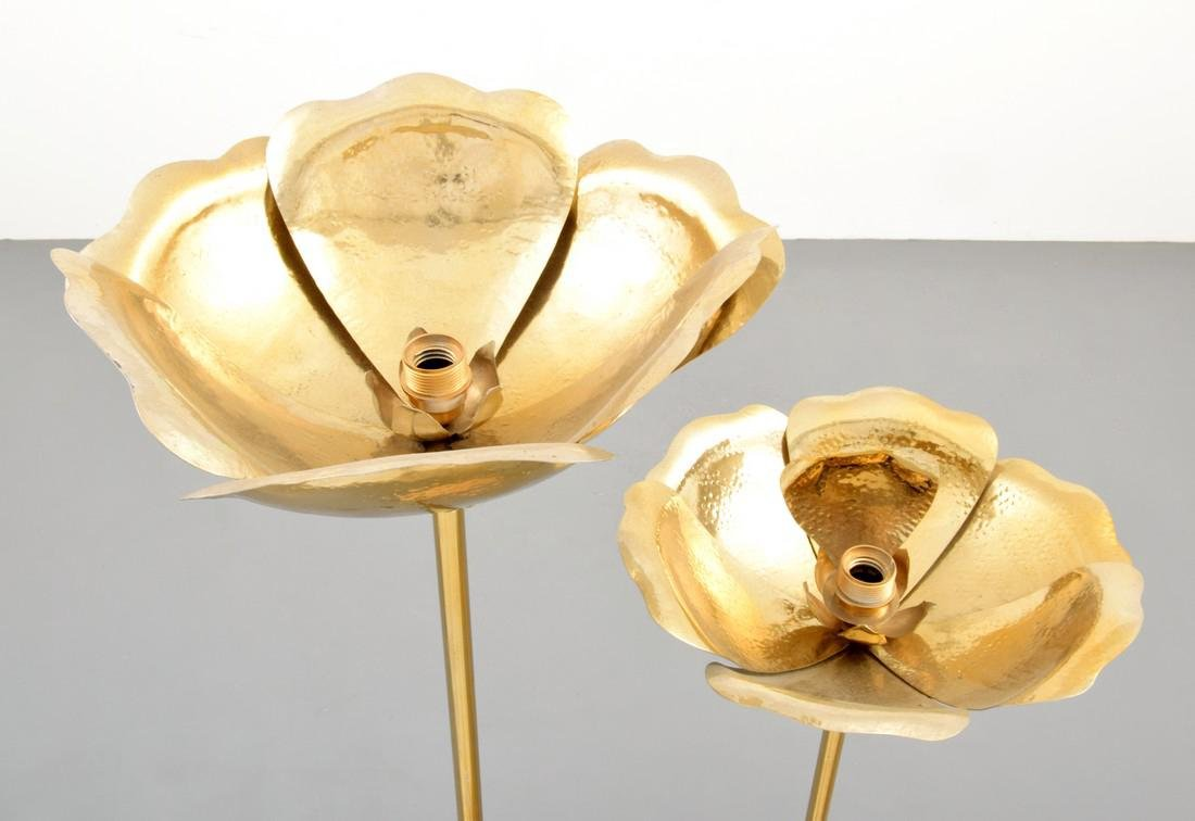Pair of Tommaso Barbi Floor Lamps - 5
