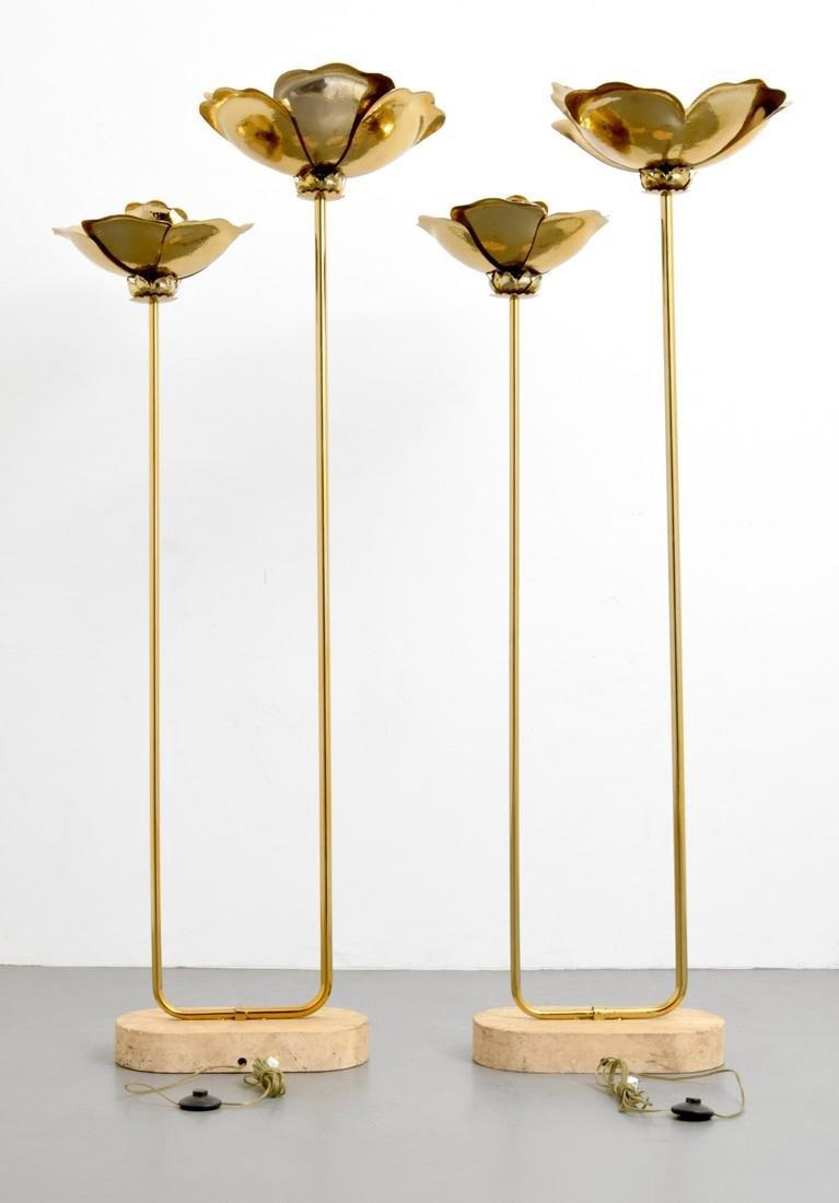 Pair of Tommaso Barbi Floor Lamps - 6