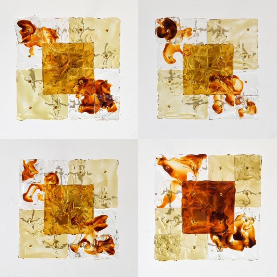 Venini Sconces / Ceiling Lights, Set of 10 - 7
