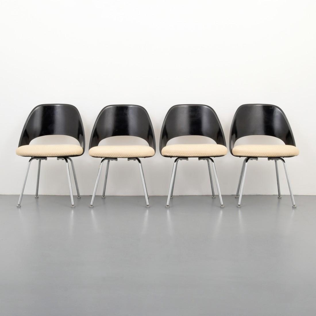 Eero Saarinen Dining Chairs, Set of 4