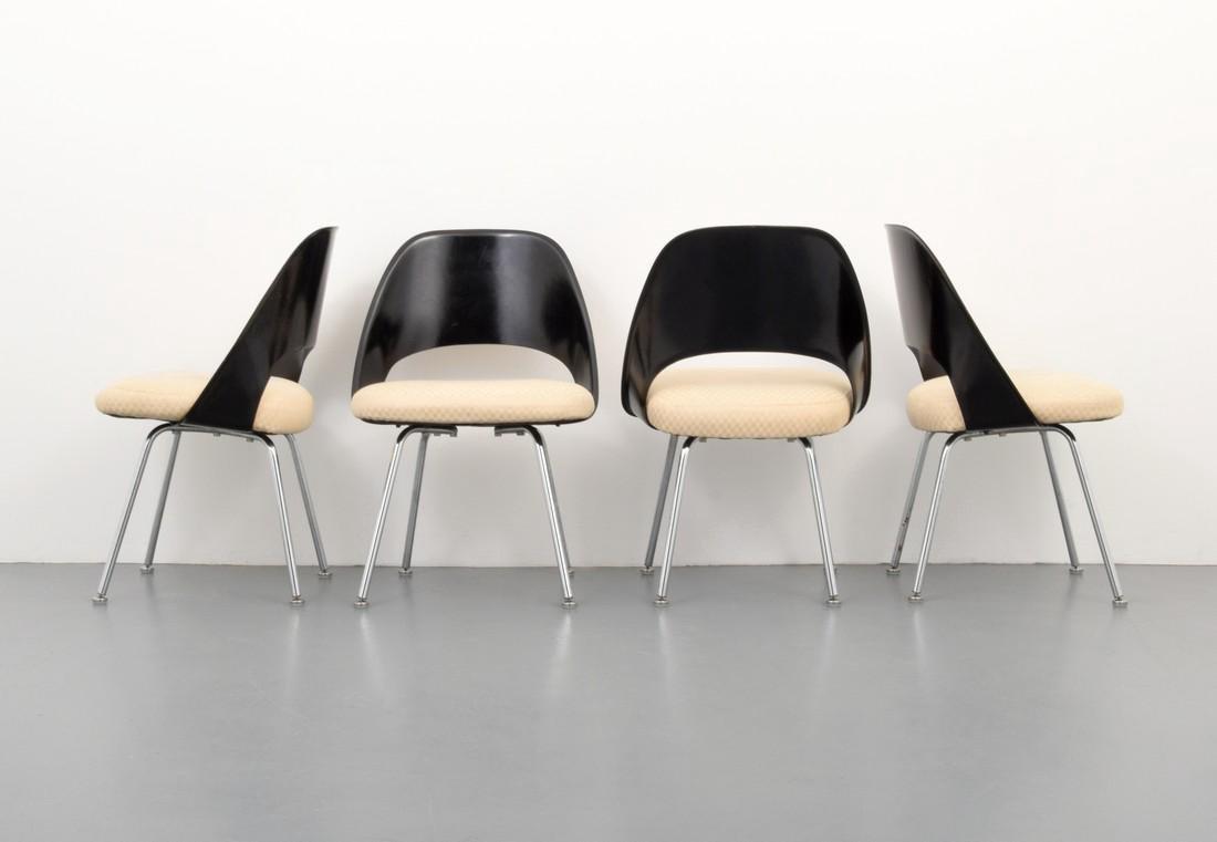 Eero Saarinen Dining Chairs, Set of 4 - 7