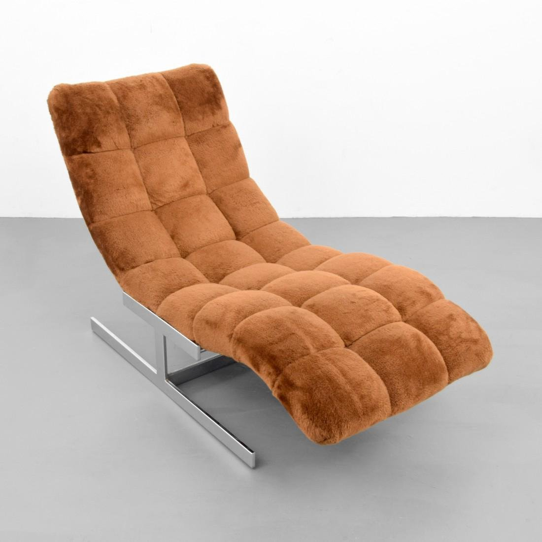Chaise Lounge Chair, Manner of Milo Baughman - 2