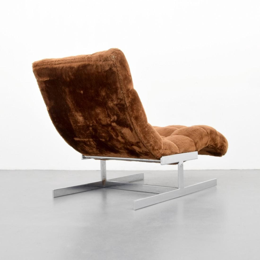 Chaise Lounge Chair, Manner of Milo Baughman - 4